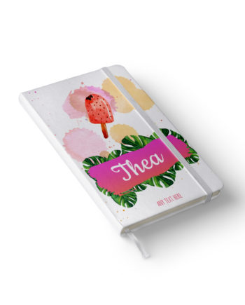 Personalised Summer Theme notebook