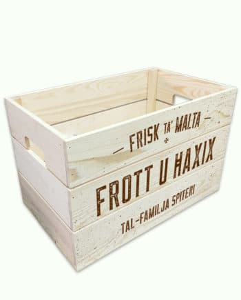 'Frott u Ħaxix' Personalised Crate for the kitchen