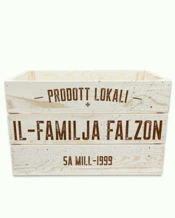 'Prodott Lokali' Personalised Crate for the kitchen