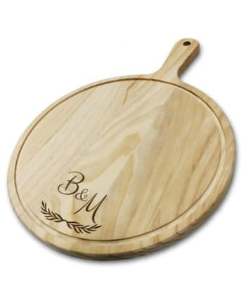 Personalised Initials Laser Engraved Chopping Board