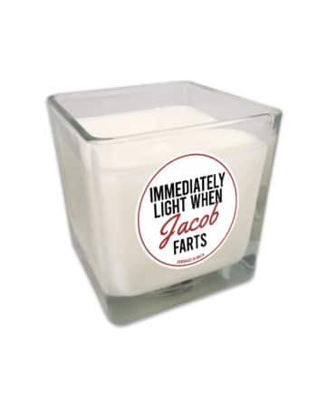 Personalised Fart Candles