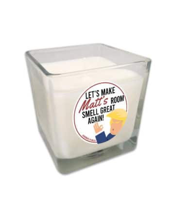 Personalised Funny 'Smell Great Again' Candle